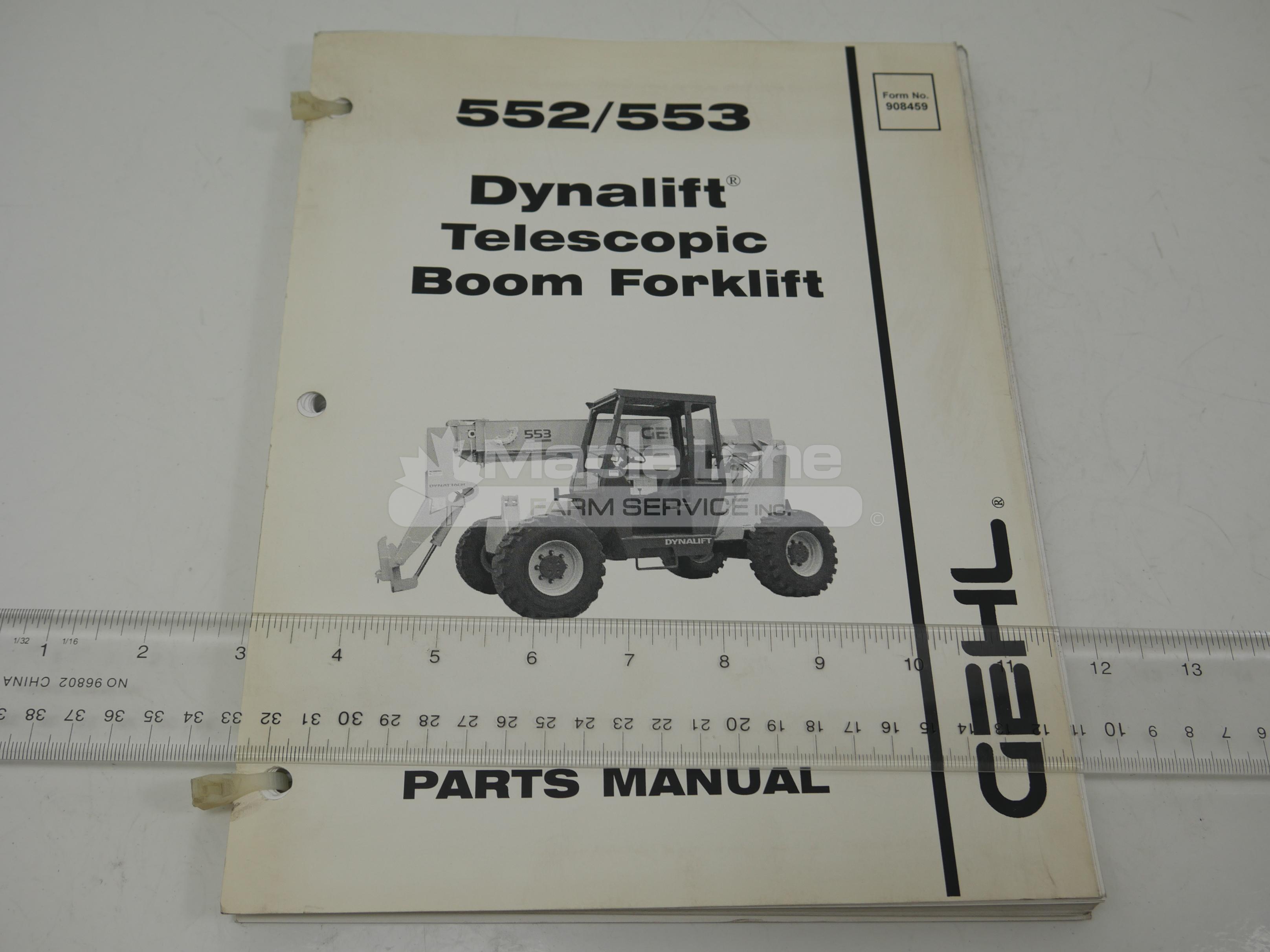 908459 55 Parts Manual