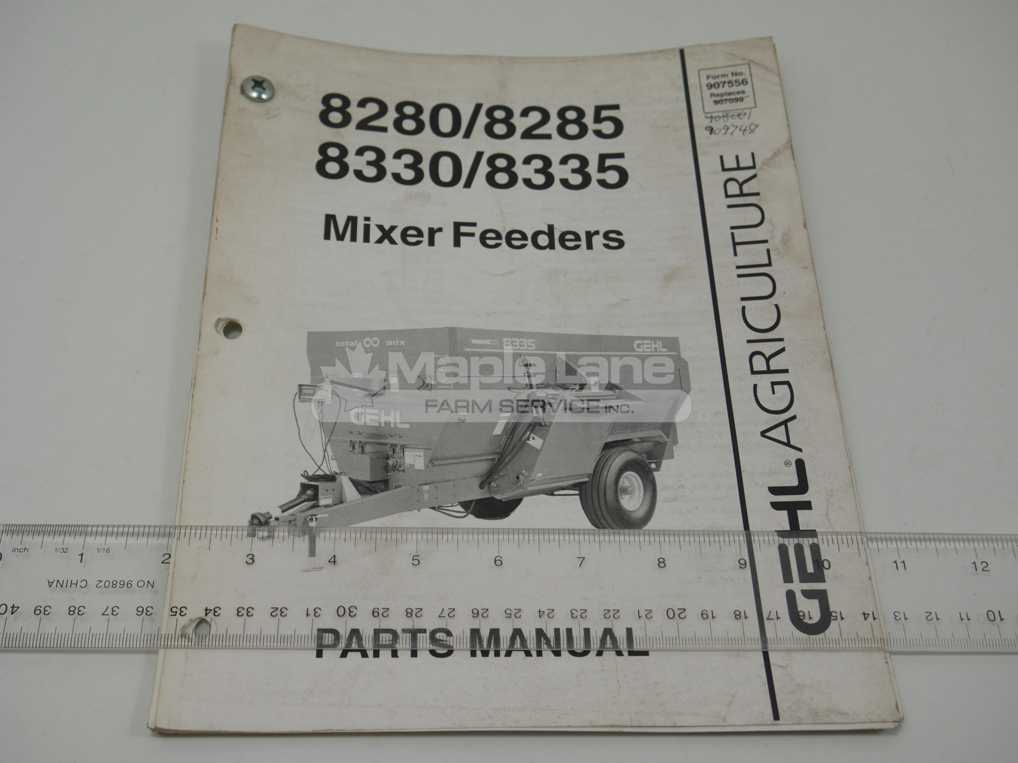909748 Parts Manual