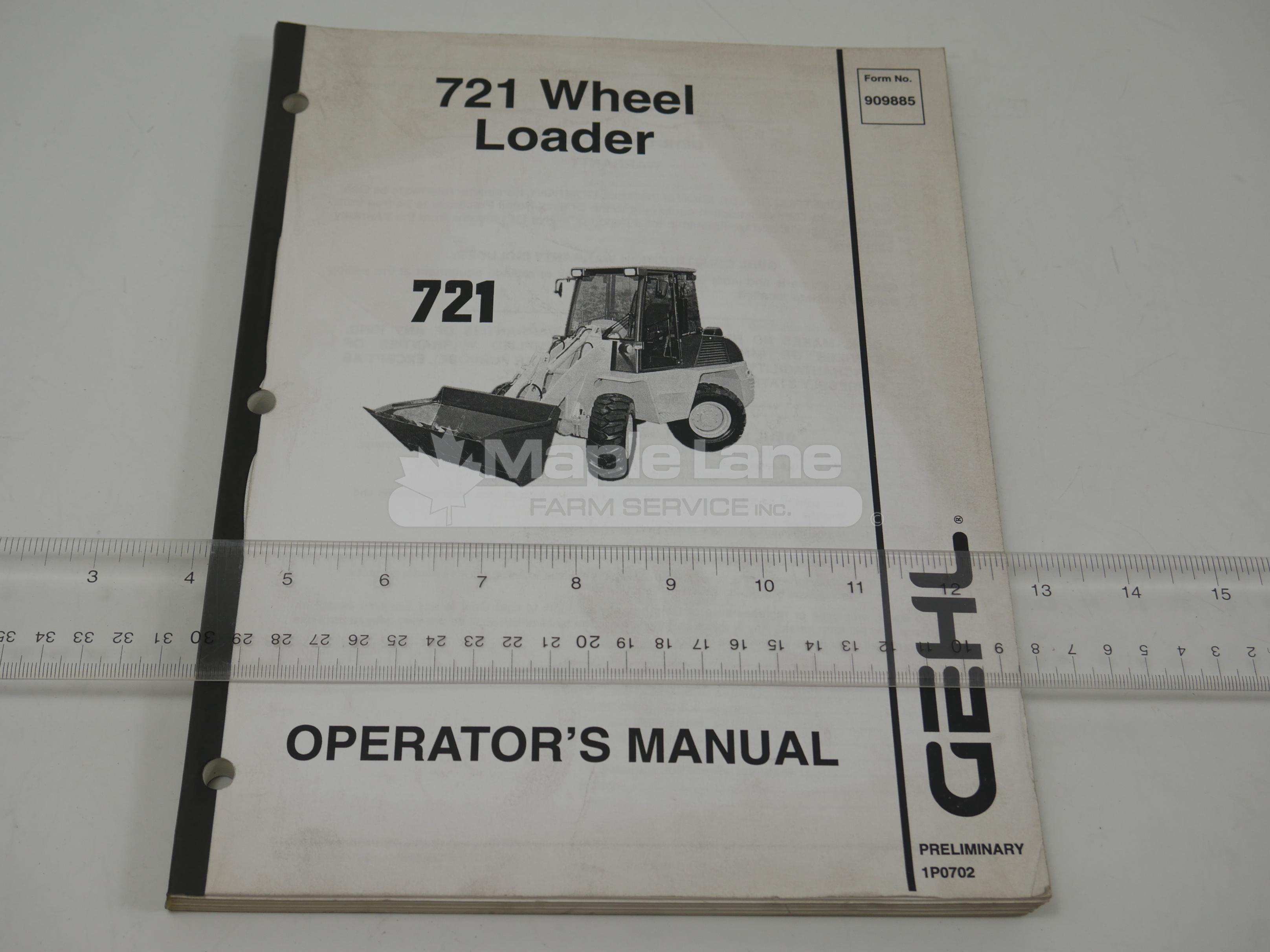 909885 Operator Manual