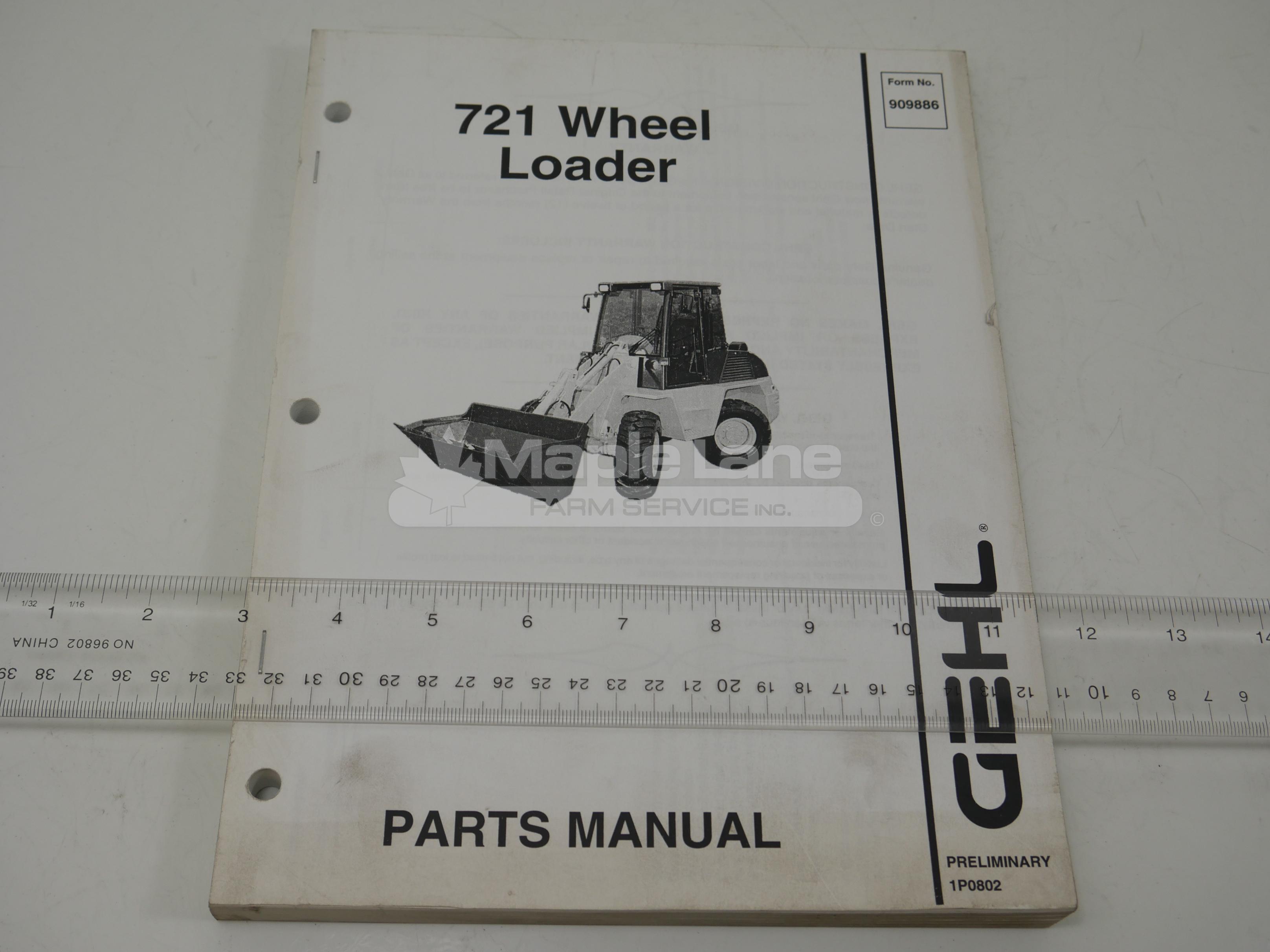 909886 Parts Manual