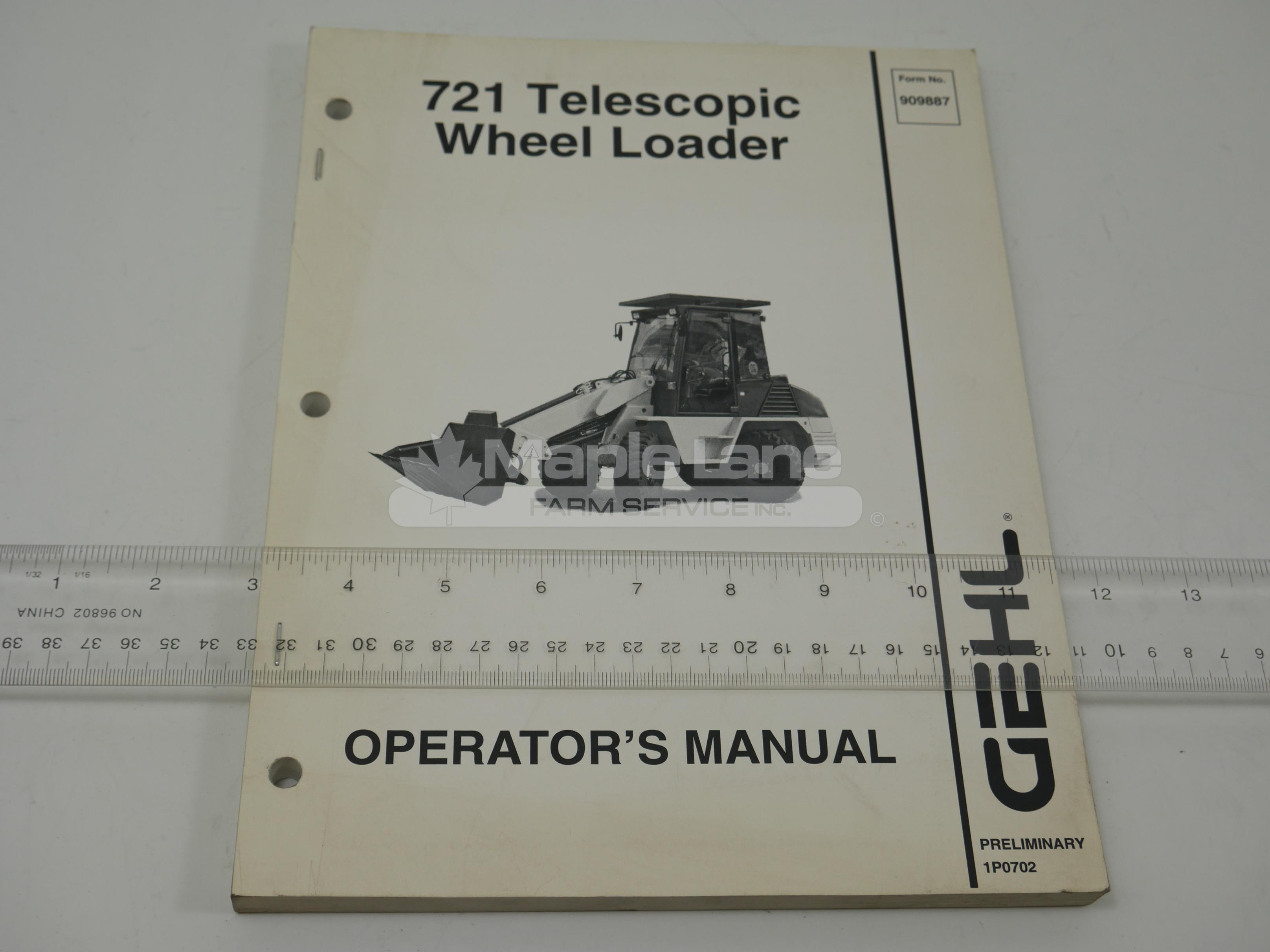 909887 Operator Manual