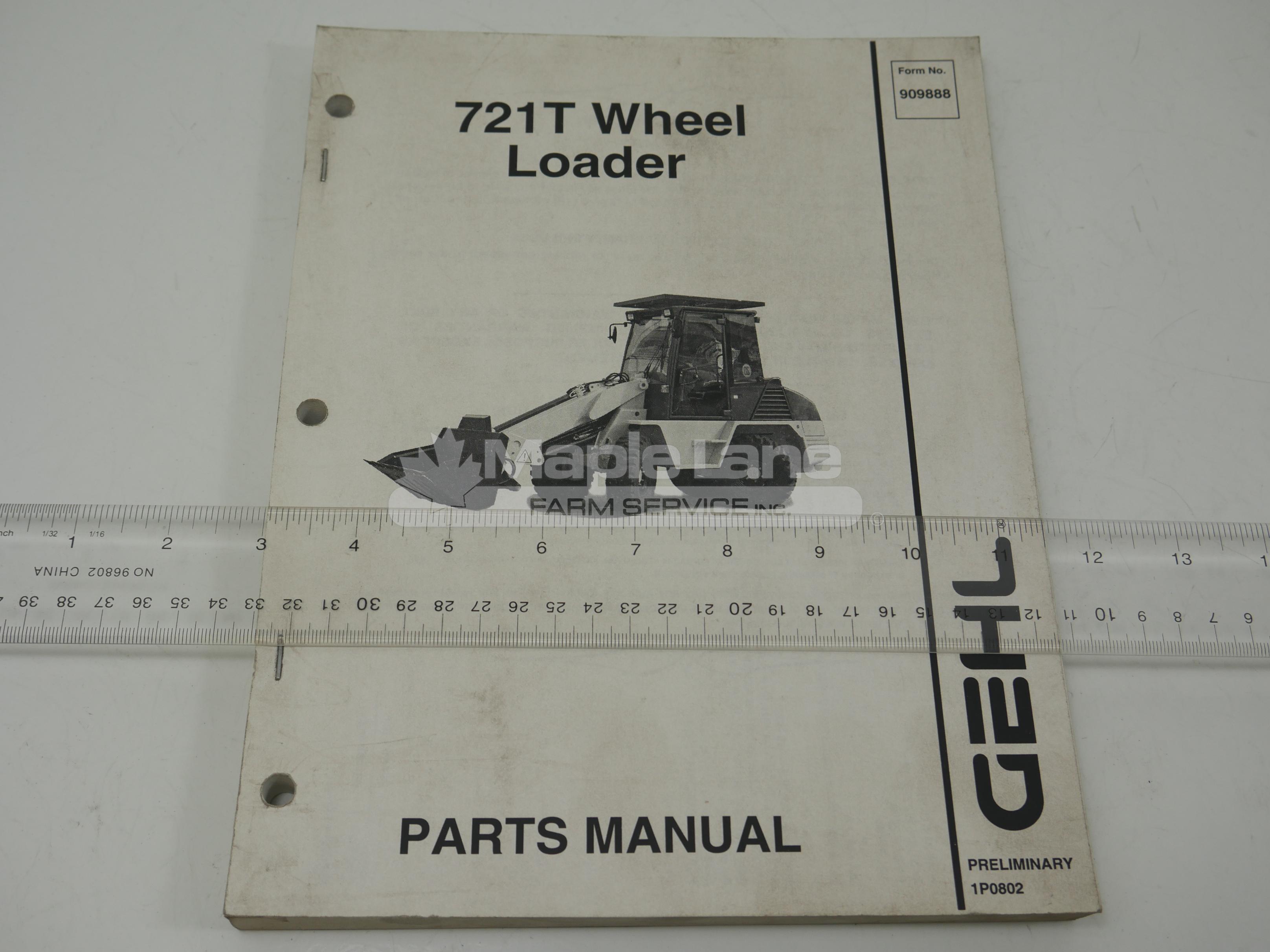 909888 Parts Manual