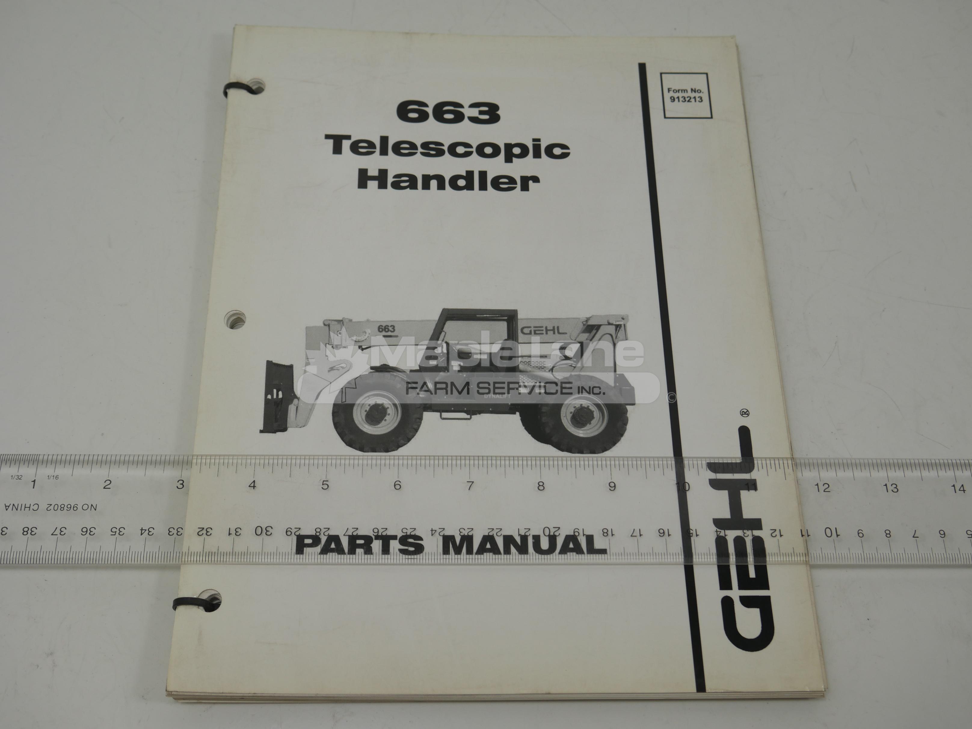 913213 6 Parts Manual