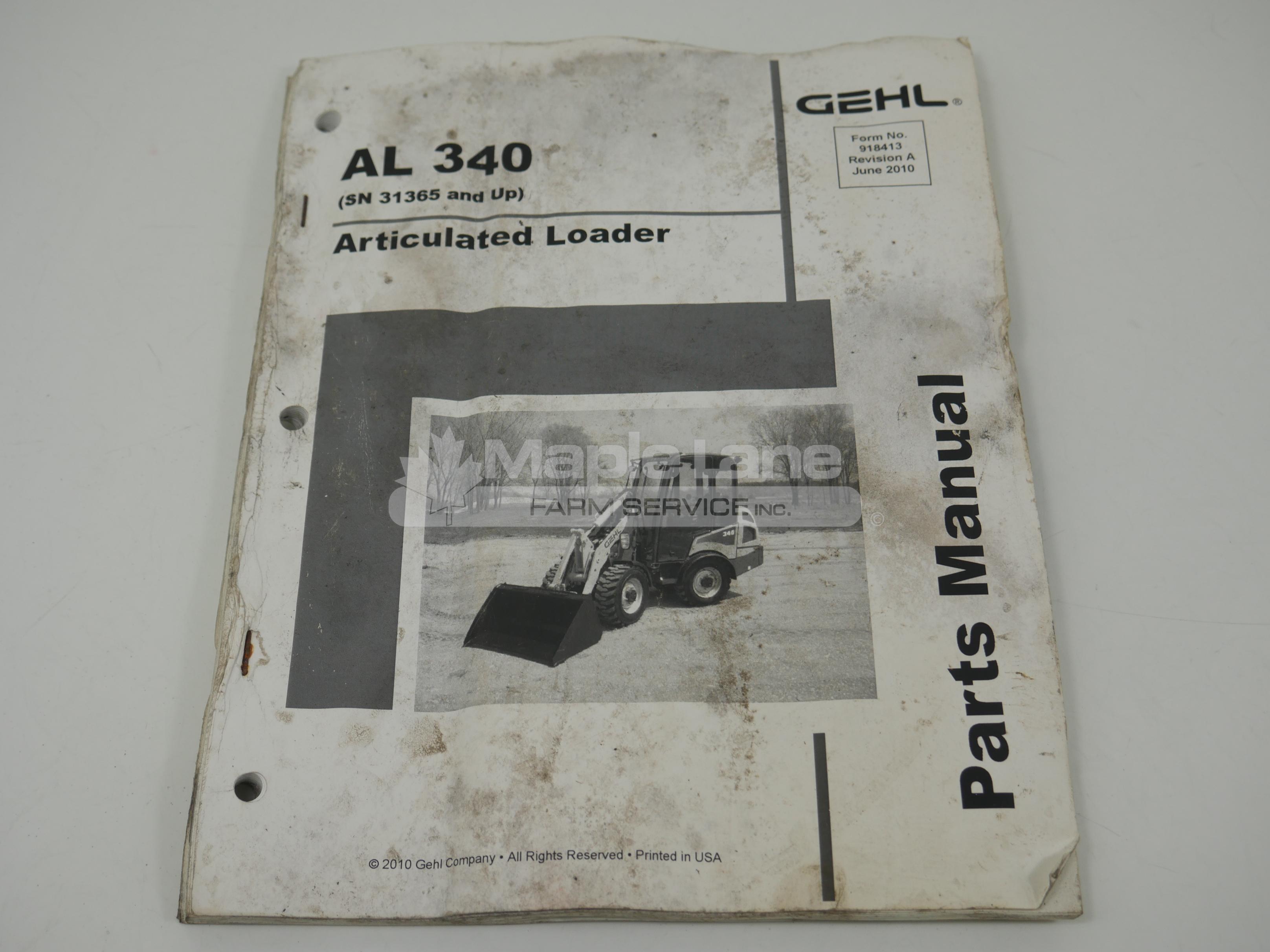 918413 Parts Manual