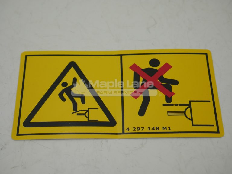 4297148M1 Safety Decal