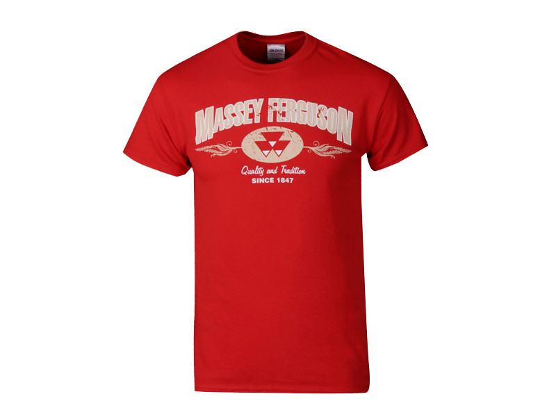 Massey Red Tradition T-Shirt