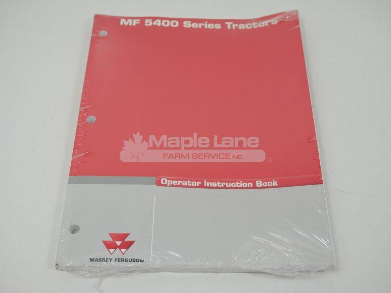 3378505M2 MF 5400 Operator Manual