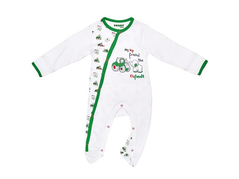 Elefendt Baby Snap Up Pajamas