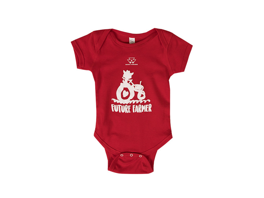Massey Future Farmer Onesie