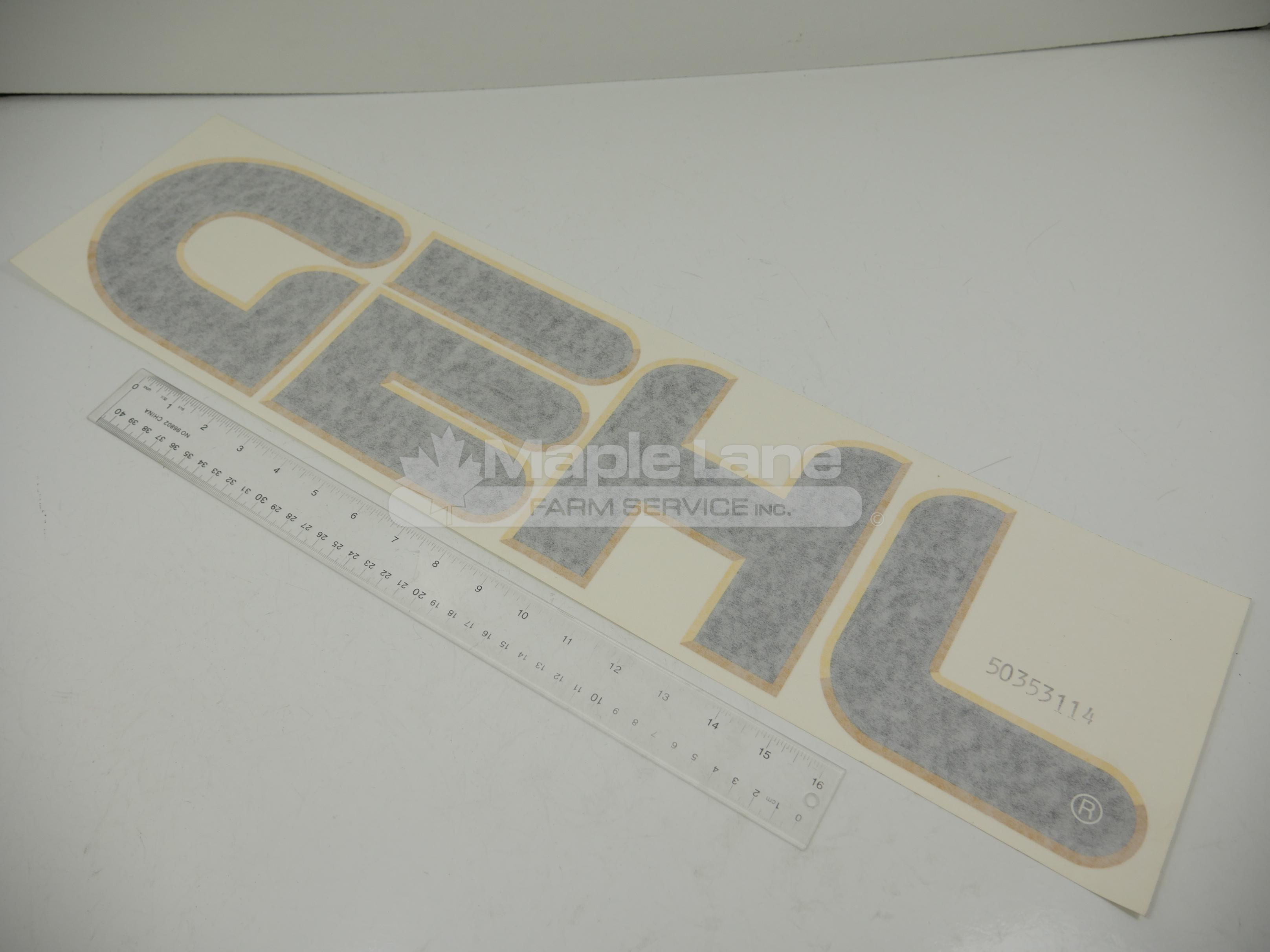 50353114 Lift Arm Decal