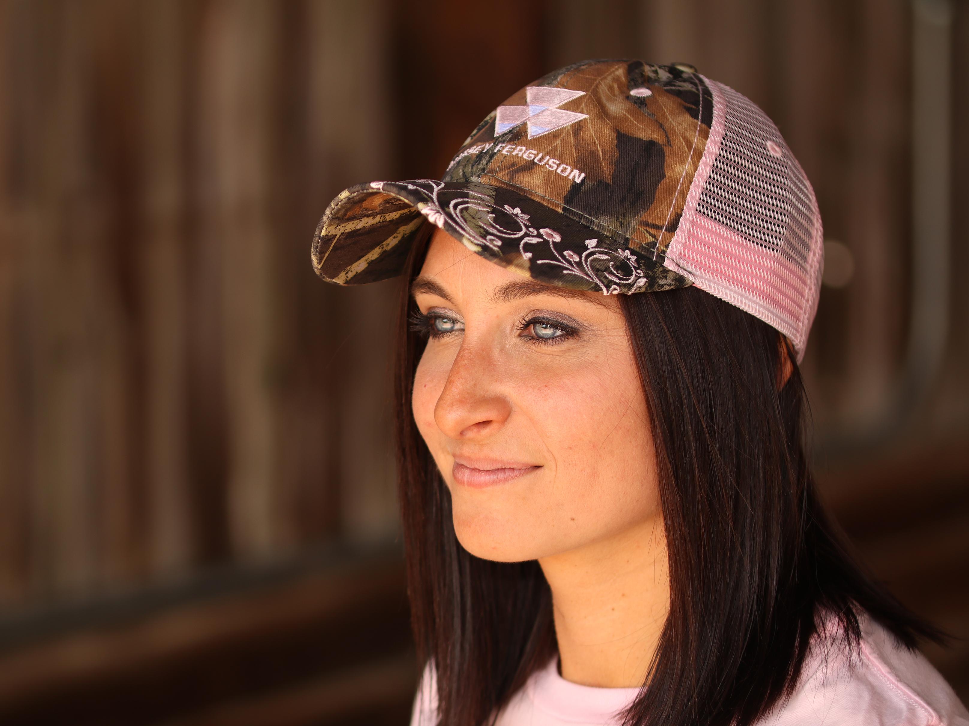 Massey Pink Mesh Ladies Hat