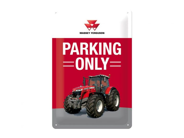 Massey Tractor Parking Only Sign