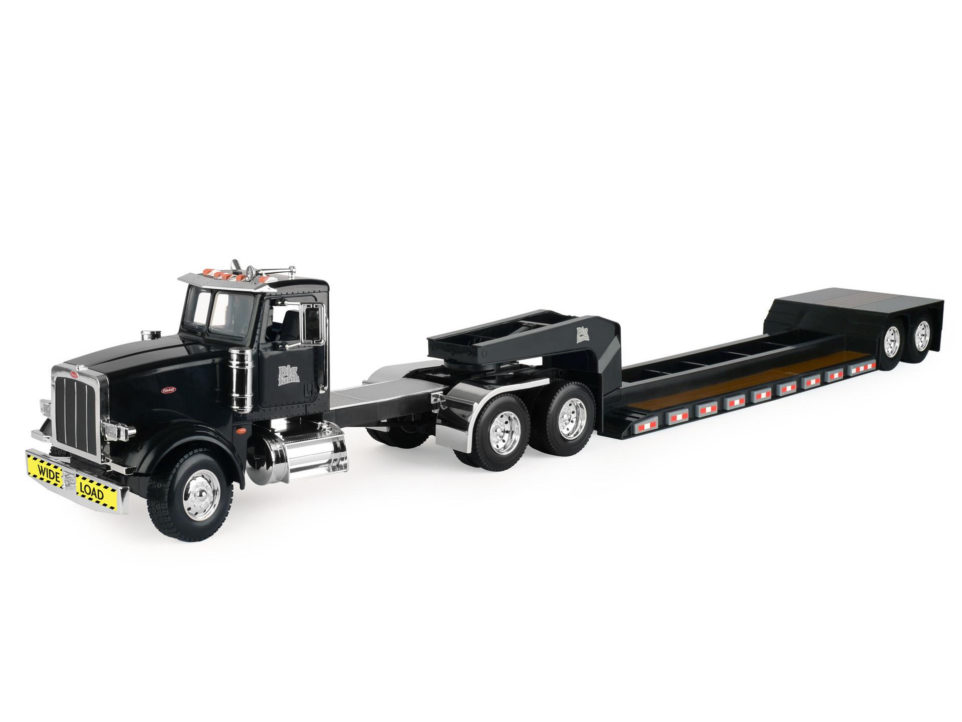 Peterbilt Truck With Lowboy Trailer
