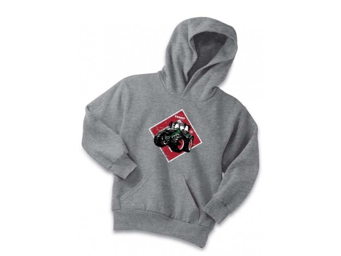 Child's Red Diamond Fendt Hoodie