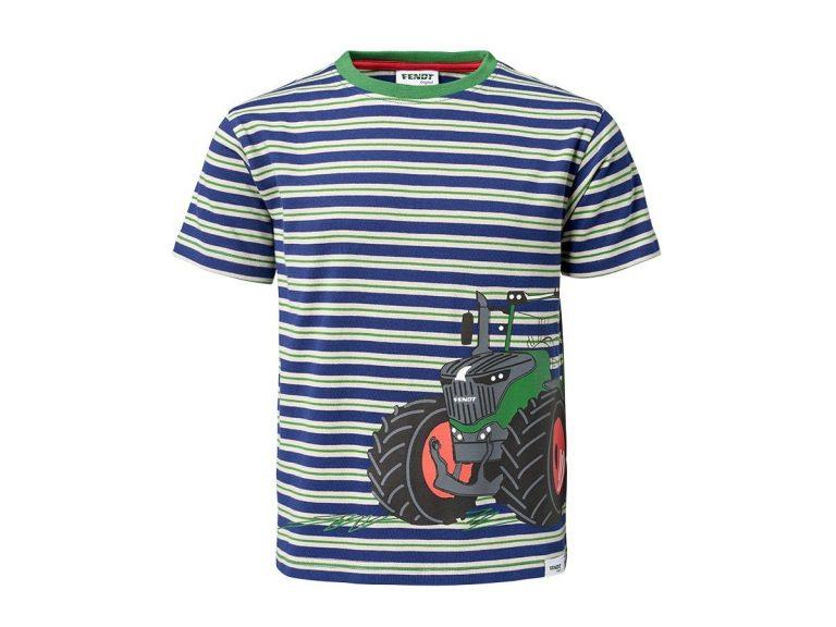 Child's Fendt Blue Striped T-Shirt
