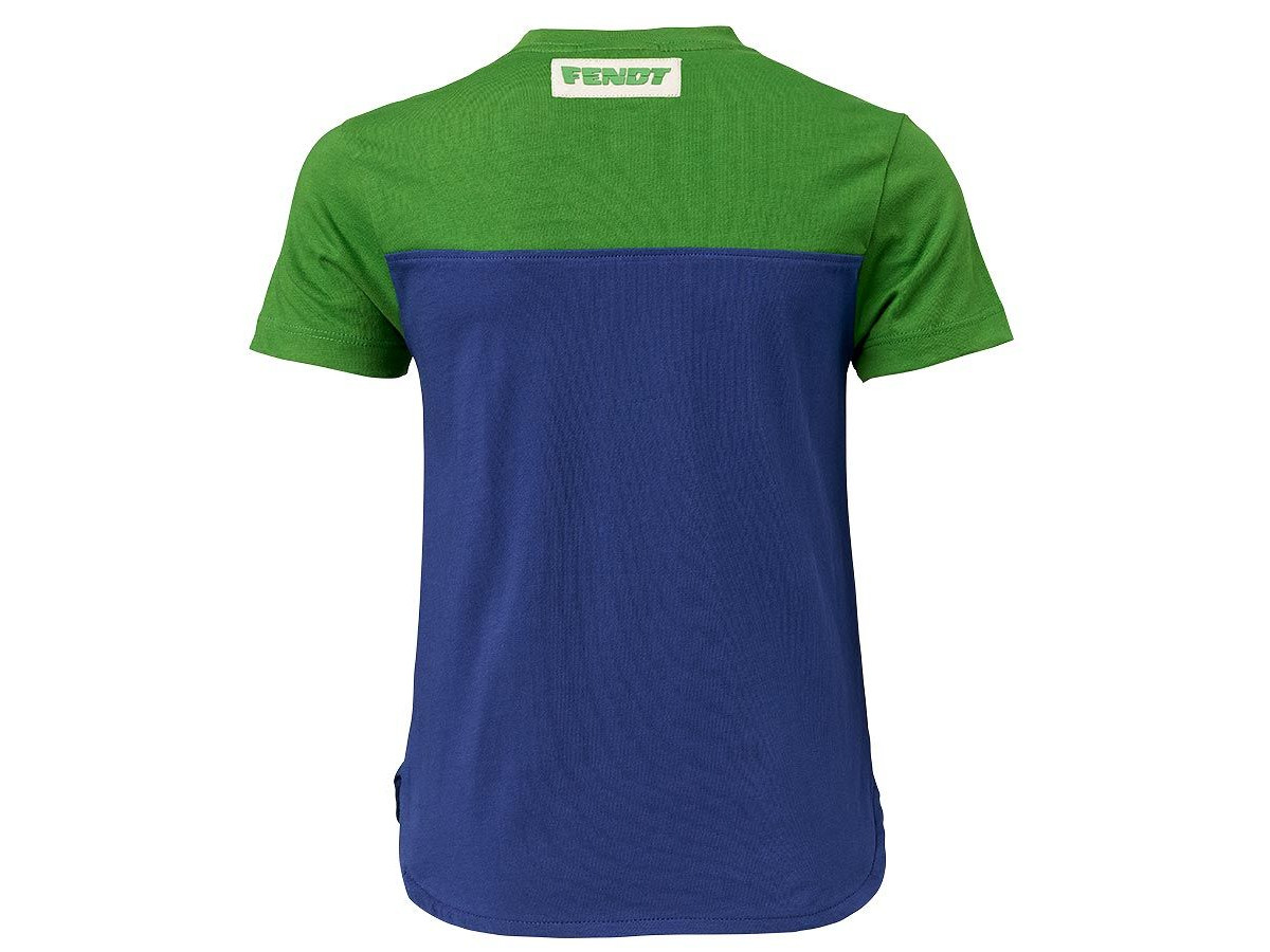 Child's Fendt Green Blue T-Shirt