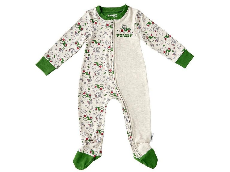 Fendt Farm Animals Zip Up Pajamas