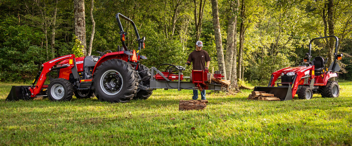 Massey Ferguson compacts and utility tractors at work