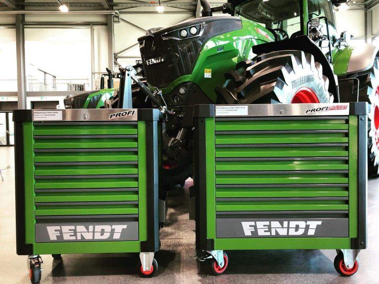 Fendt Profi Toolbox With Tools