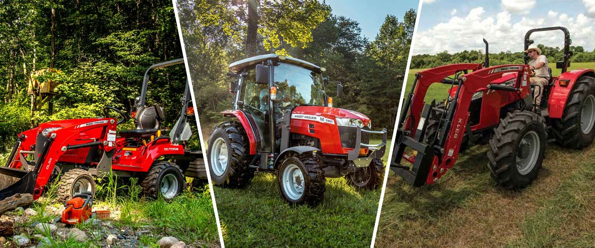 Massey Ferguson Sub-Compacts, Compacts, and Utility Tractors