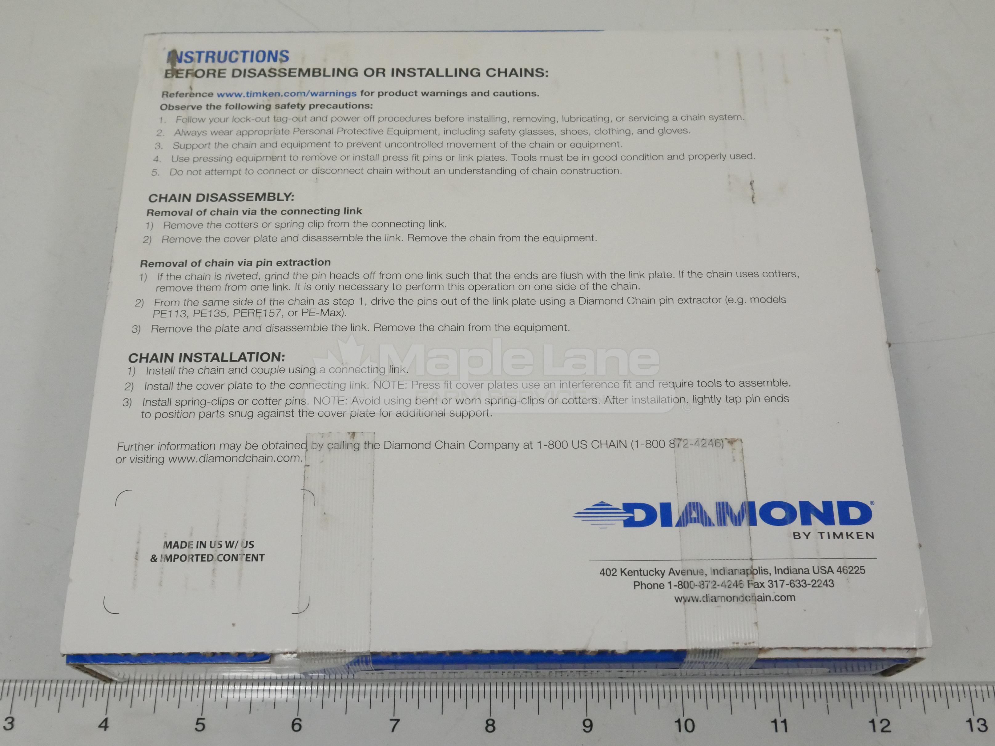 DX1487066 Chain 2040 10'