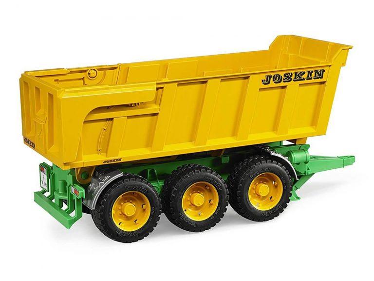 Bruder Joskin Tri-Axle Dump Trailer