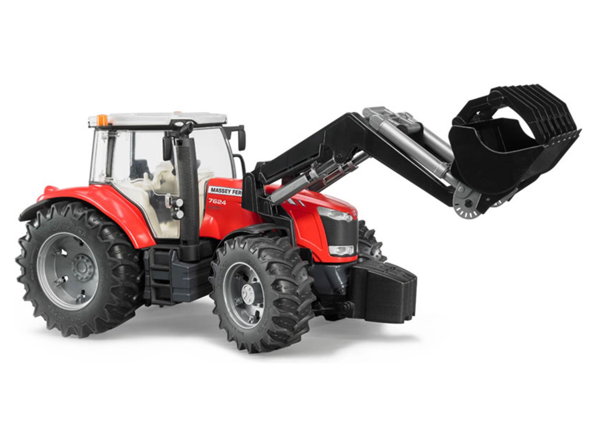 Bruder MF 7624 Tractor with Loader