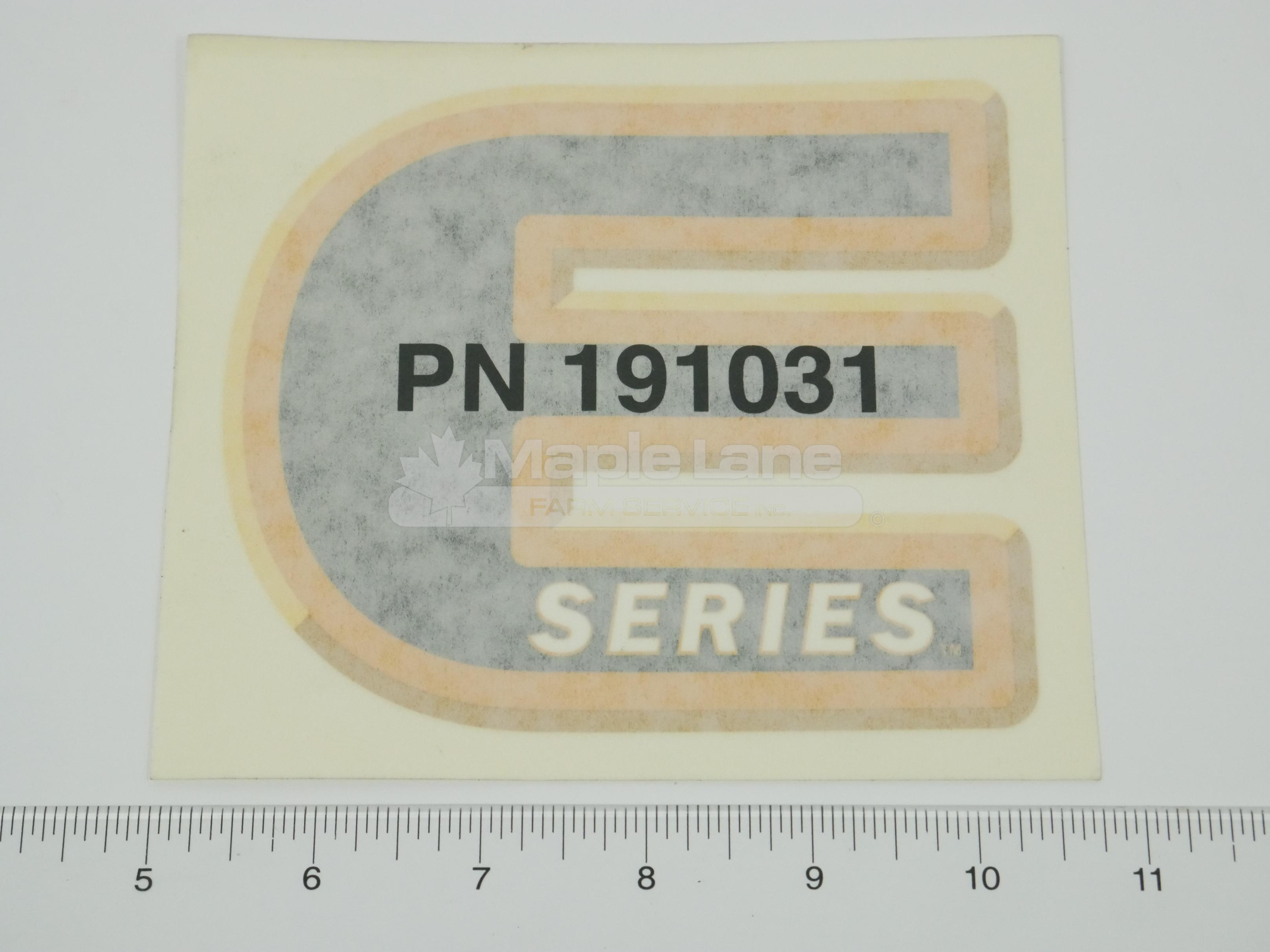 191031 Decal E-Series