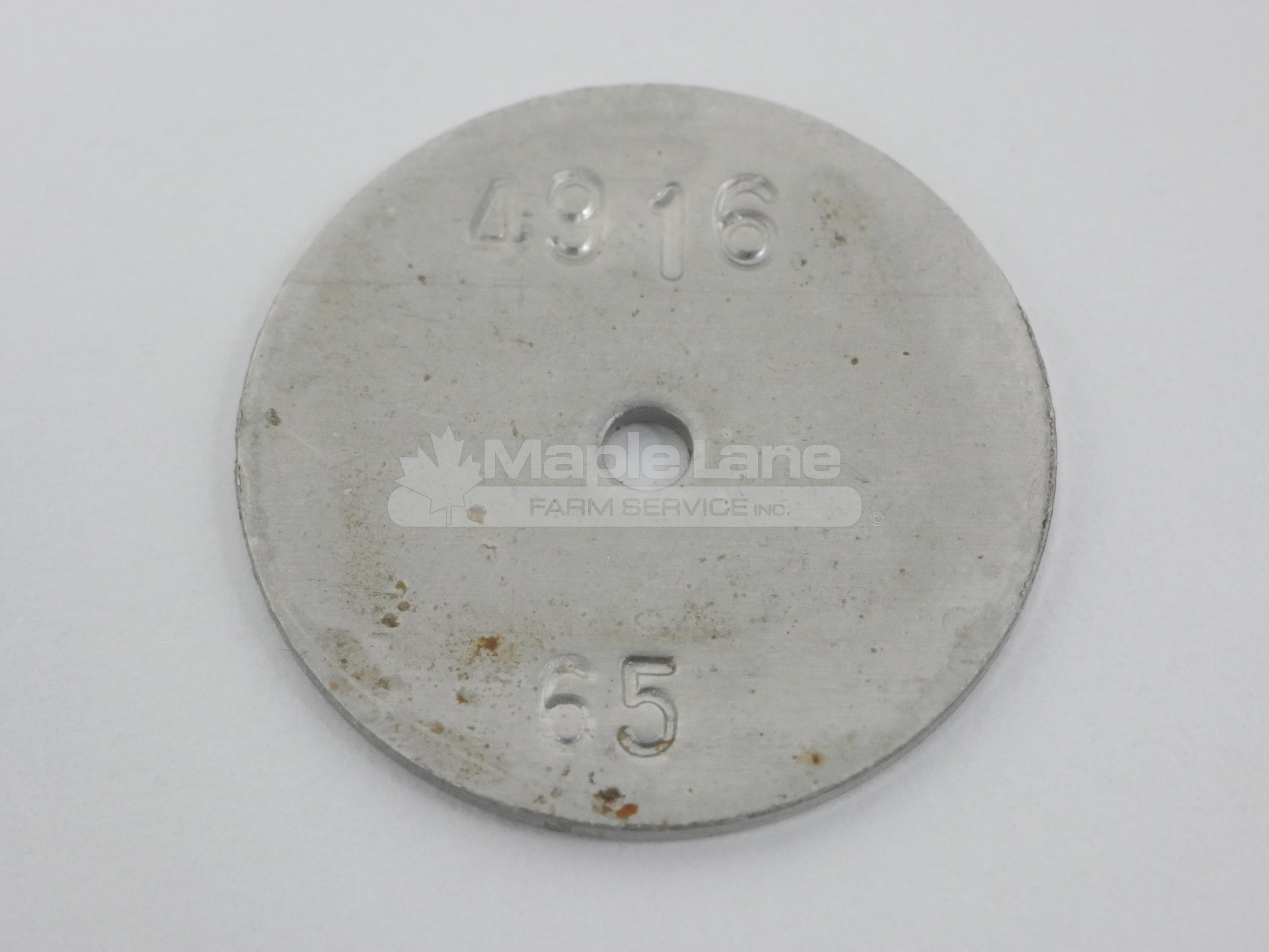 AG005758 Metering Disk