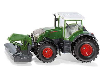 Fendt 942 With Front Mower