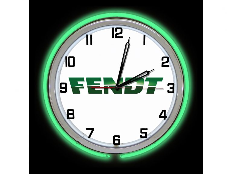 Fendt Neon Clock
