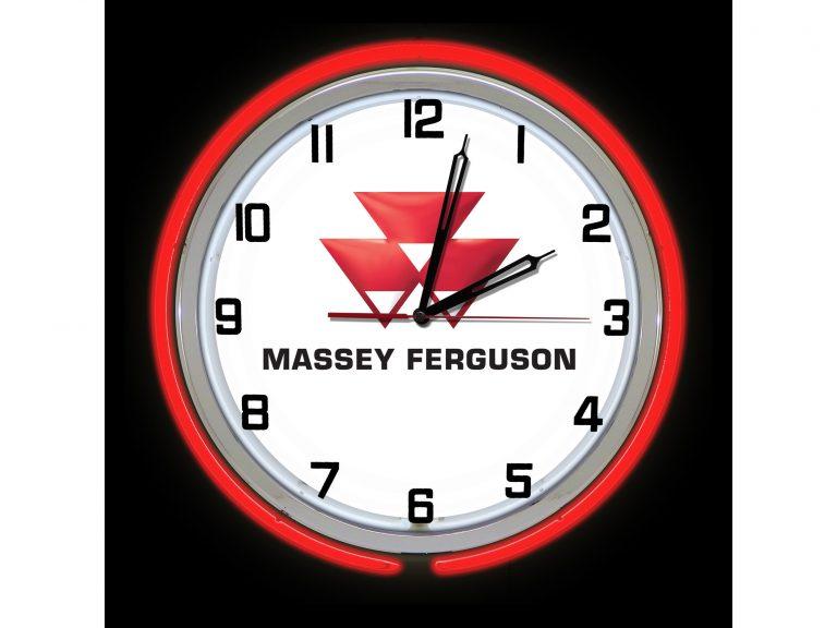 Massey Ferguson Neon Clock