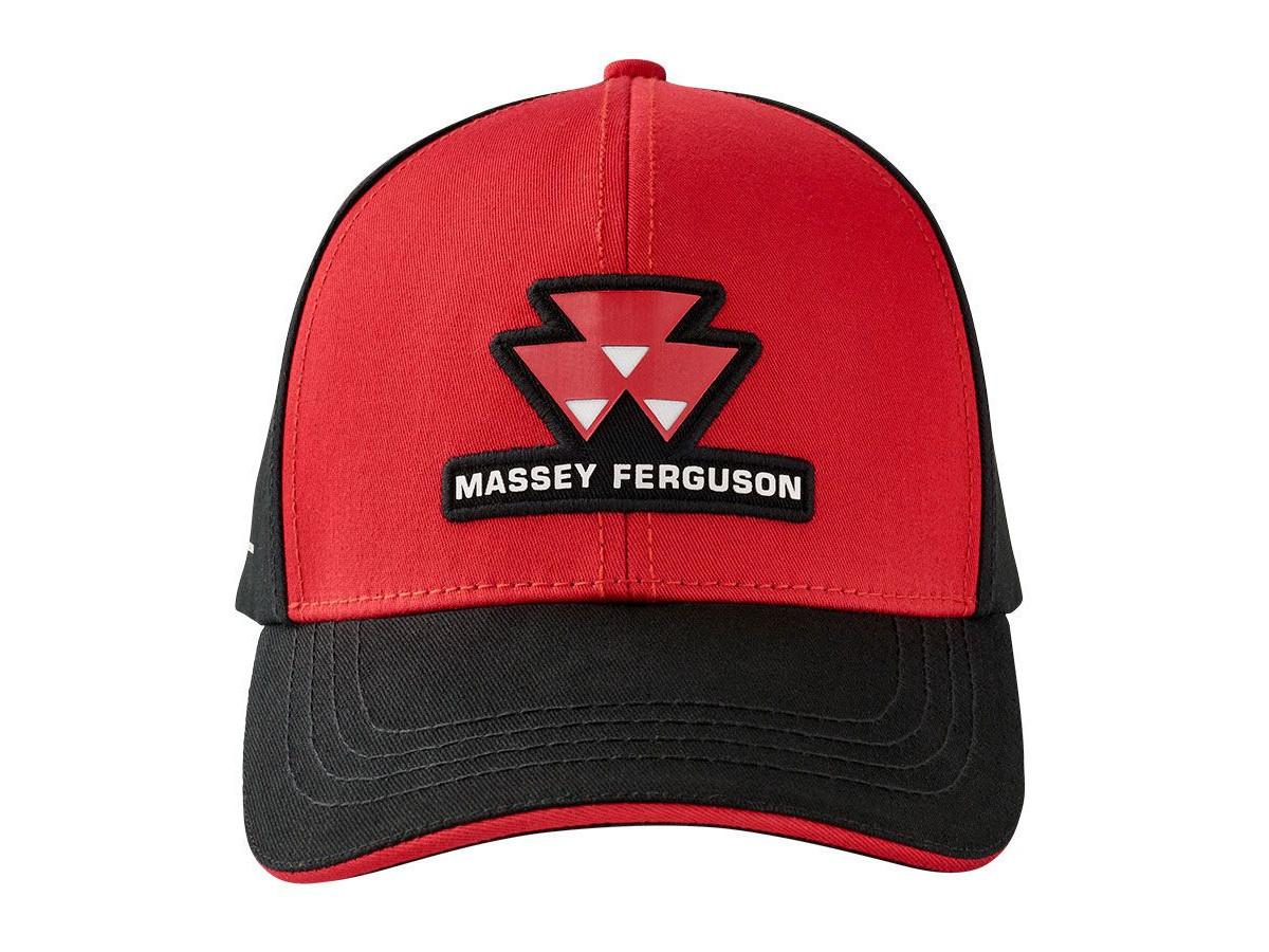 Massey Ferguson Red Black Hat