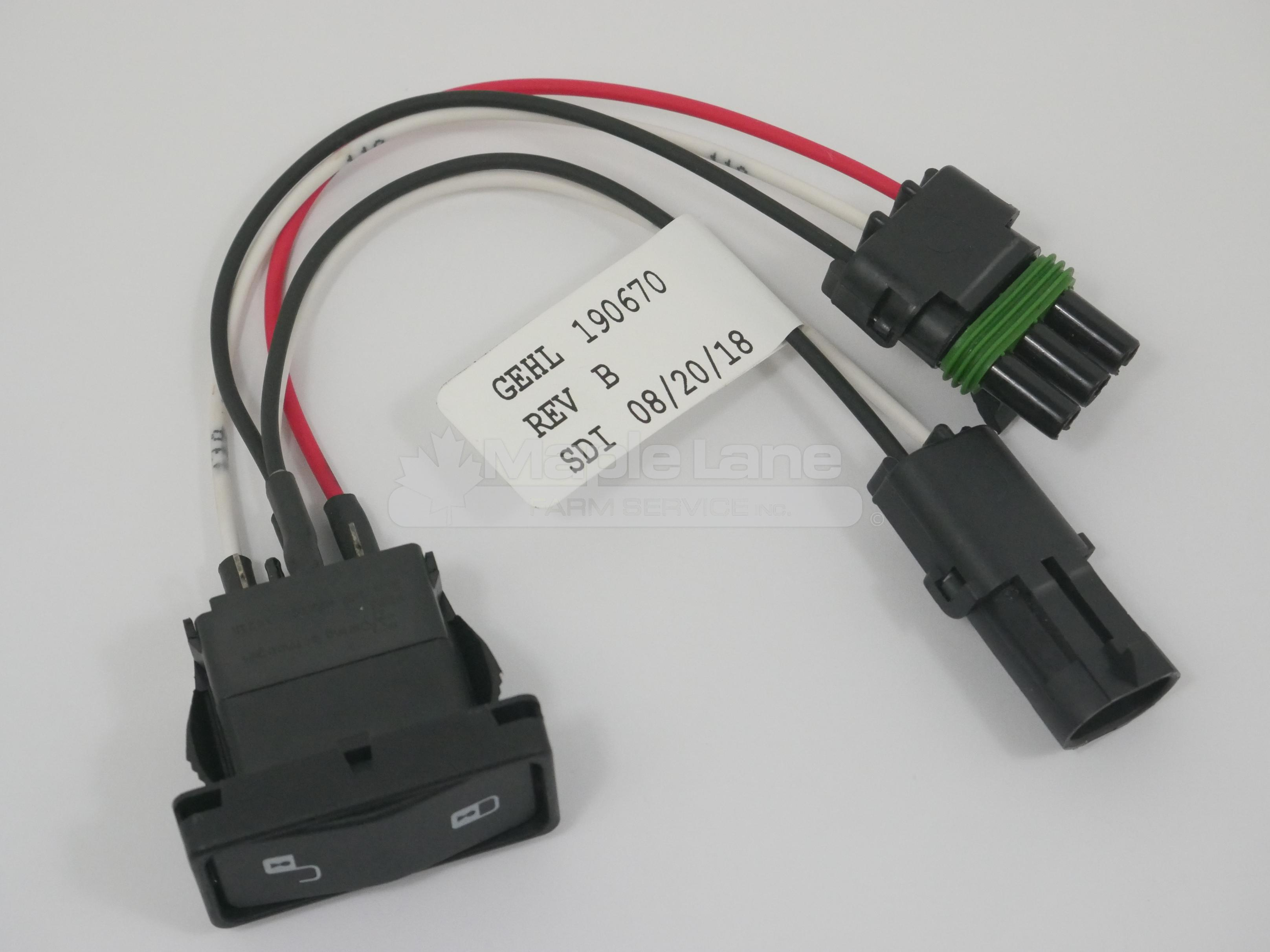 190670 Lock Switch Assembly