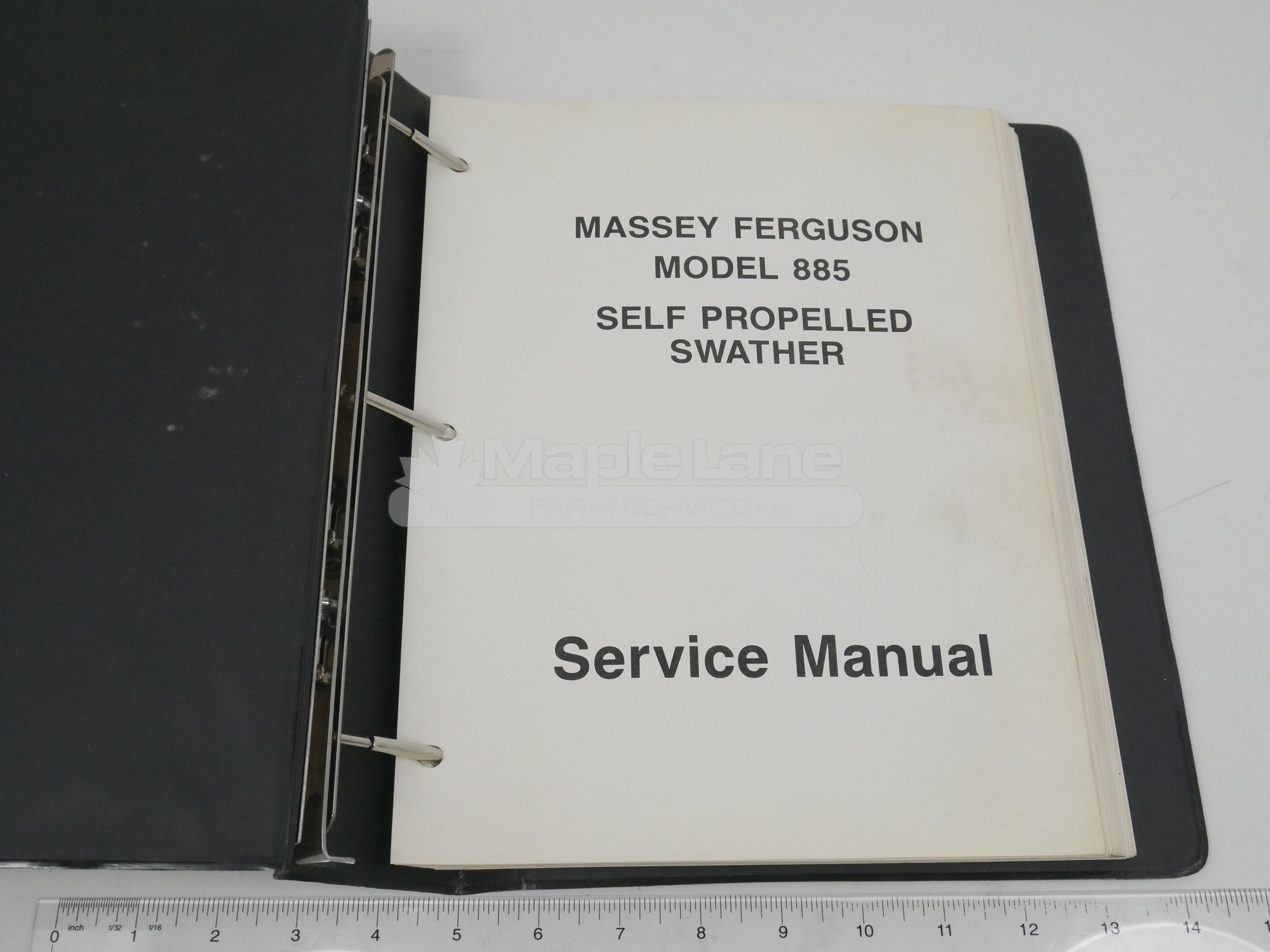 1449204M1 Massey 885 Service Manual
