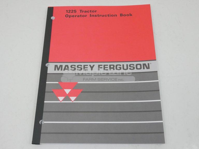 1449754M3 MF1225 Operator Manual