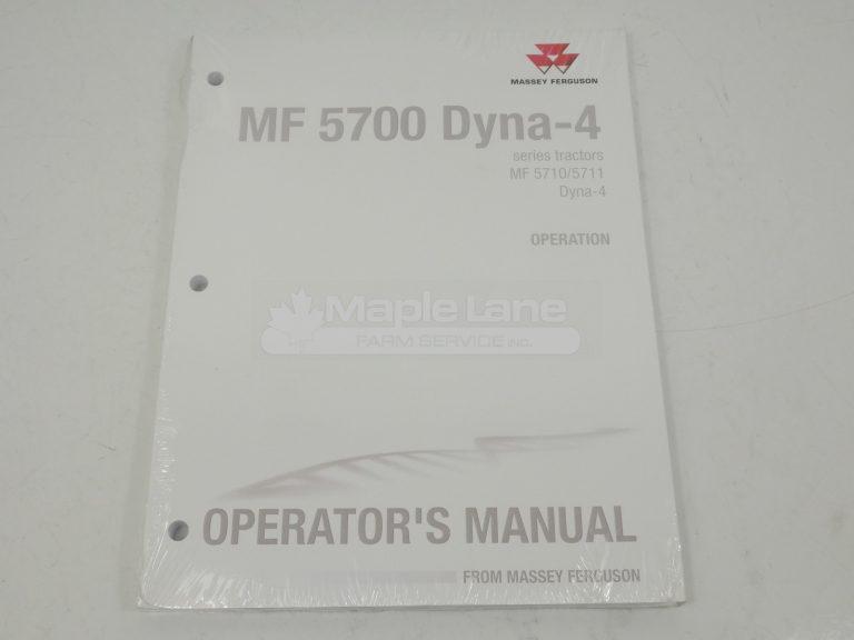 ACT0053650 MF 5700 Operator Manual
