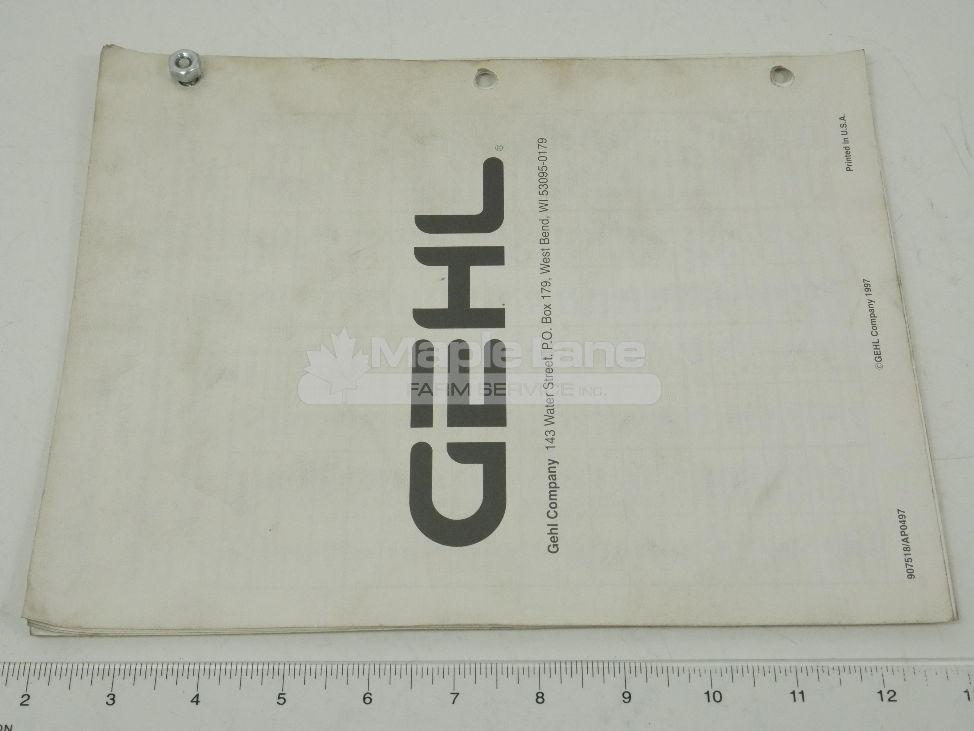 907518 2345/2365 Parts Manual
